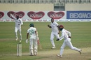 Shannon Gabriel struck twice with the new ball, Bangladesh vs West Indies, 2nd Test, Dhaka, 2nd day, February 12, 2021