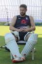 Chris Woakes was named in England's 12-man squad for the second Test, England training, Chennai, February 12, 2021