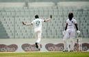 Abu Jayed celebrates the wicket of Jomel Warrican, Bangladesh vs West Indies, 2nd Test, Dhaka, 4th day, February 14, 2021