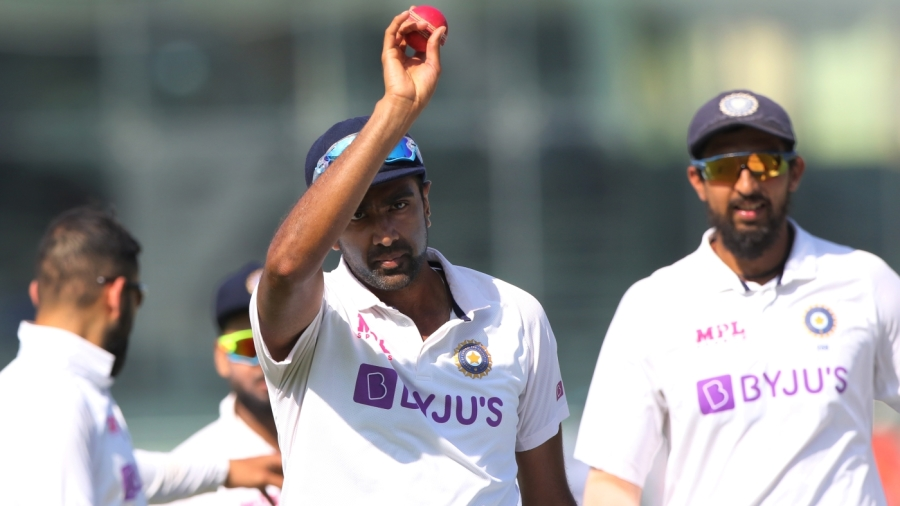 R Ashwin claimed the 29th five-for of his Test career