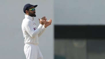 Things largely went the way of Virat Kohli's team on the fourth morning