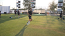 Chris Woakes bowls in the nets, Ahmedabad, February 20, 2021
