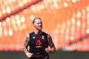 Ben Stokes at training in Ahmedabad's new stadium, India v England, 3rd Test, Ahmedabad, February 22, 2021