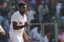 R Ashwin is pumped up after a wicket, India vs England, 3rd Test, Ahmedabad, 1st day, February 24, 2021