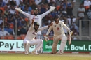 India belt out an appeal on a track that offered turn from day one, India vs England, 3rd Test, Ahmedabad, 1st day, February 24, 2021