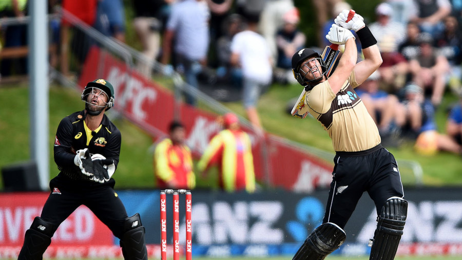 Martin Guptill ended a run of low scores