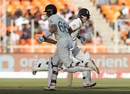 Joe Root and Ben Stokes run between the wickets, India vs England, 3rd Test, Ahmedabad, Day 2, February 25, 2021