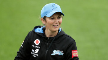 Charlotte Edwards, pictured during the WBBL, is the new president of the PCA