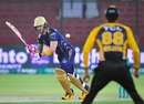 Faf du Plessis looked elegant in his first PSL game of the season, Peshawar Zalmi v Quetta Gladiators, PSL 2021, Karachi, February 26, 2021