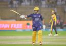 Sarfaraz Ahmed made a quickfire half-century, Peshawar Zalmi v Quetta Gladiators, PSL 2021, Karachi, February 26, 2021