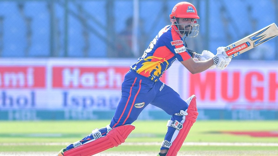 Babar Azam struck a half-century in the chase