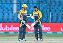 Tom Kohler-Cadmore and Shoaib Malik steadied the run chase, Islamabad United vs Peshawar Zalmi, PSL 2021, Karachi, February 27, 2021