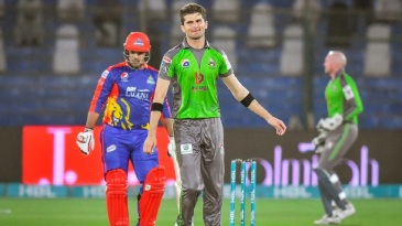 Shaheen Shah Afridi got the wicket of Babar Azam