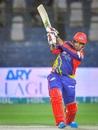 Sharjeel Khan hit a 39-ball 64, Karachi Kings v Lahore Qalandars, PSL 2021, Karachi, February 28, 2021