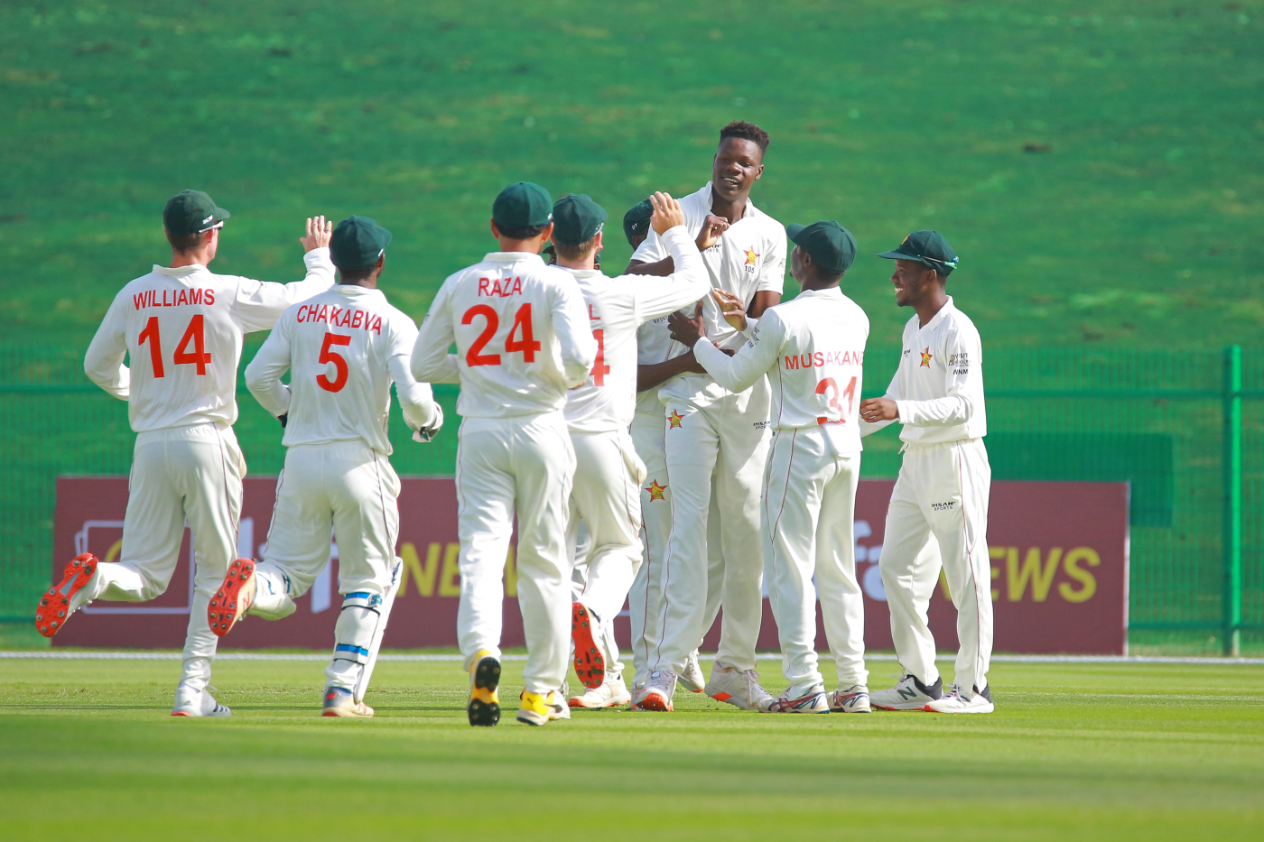 Band of brothers: Zimbabwe's current team is a tight-knit group