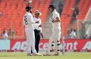 Virat Kohli and Ben Stokes exchange words as the umpire tries to intervene, India vs England, 4th Test, Ahmedabad, 1st Day, March 4, 2021