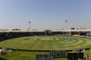 The National Stadium in Karachi wears a forlorn, empty look after PSL 2021 was indefinitely postponed, Karachi, March 4, 2021