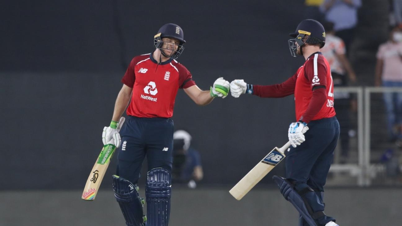 Jos Buttler and Jason Roy had England racing towards the target