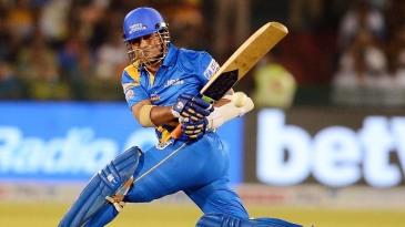 Sachin Tendulkar sweeps one away