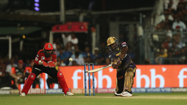 Andre Russell hit eight boundaries in the game