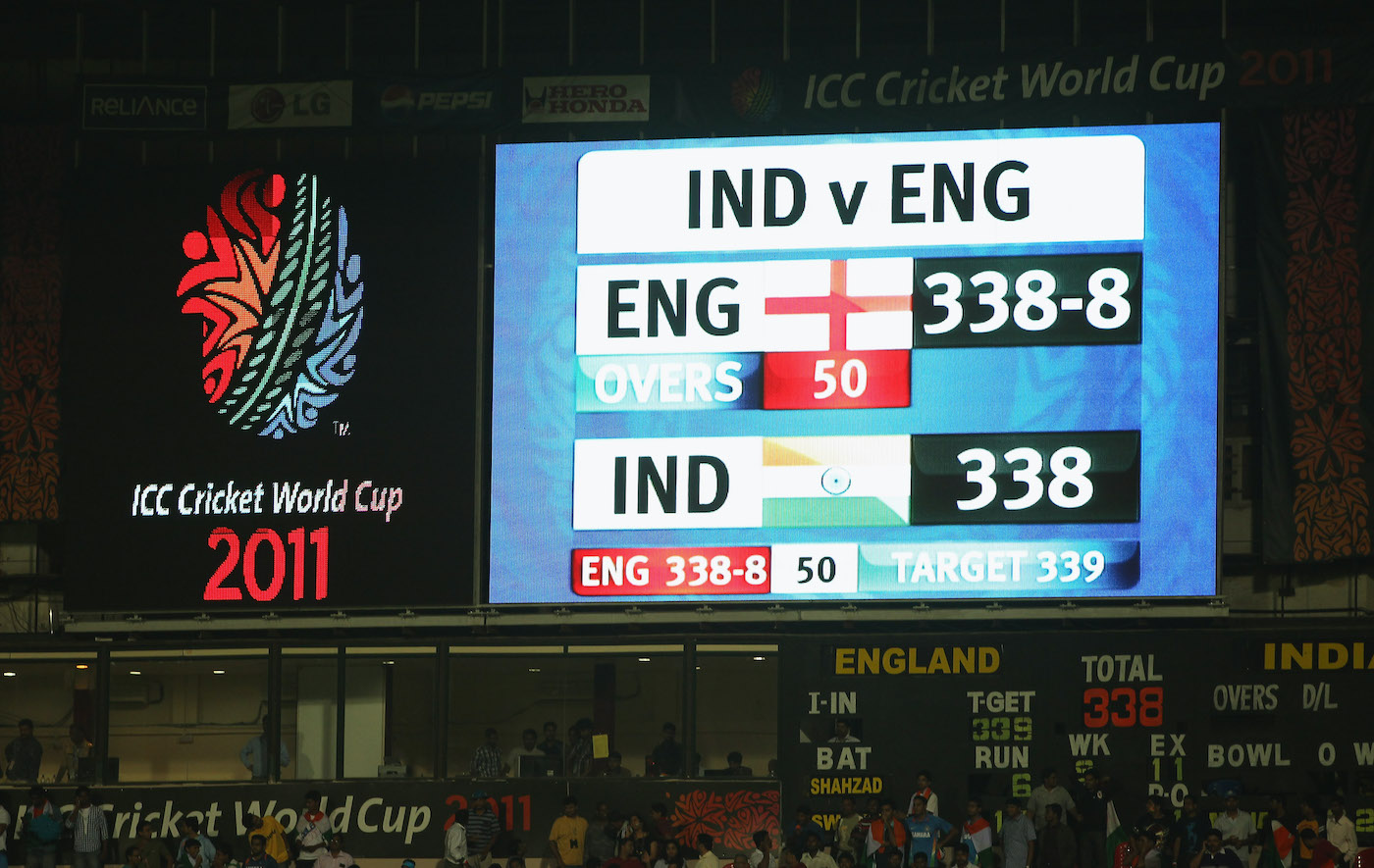 Andrew Strauss' highest ever ODI score almost took England all the way in their tied game against India