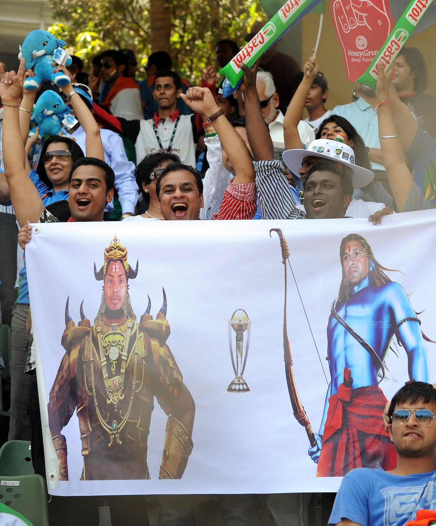 For the fans who packed the Wankhede, the final was no battle of mere mortals