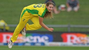 Darcie Brown steams in on her debut