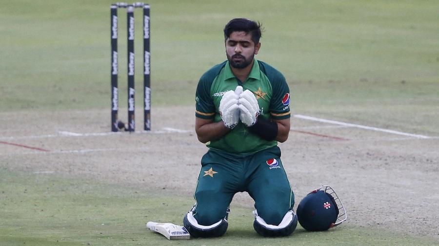 Babar Azam brought up his 13th ODI century