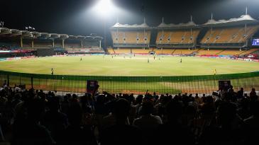 A general view of the MA Chidambaram Stadium in Chennai