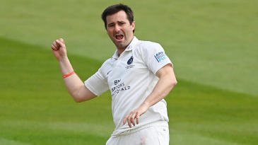 Tim Murtagh was straight back among the wickets