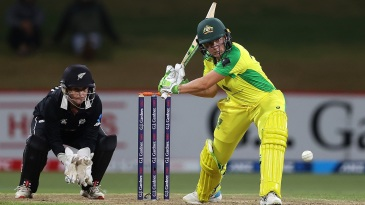 Alyssa Healy top-scored for Australia with 46