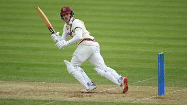 Tom Abell turns to leg during a vital half-century