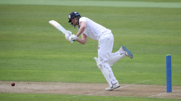 Matt Critchley made a half-century in each innings