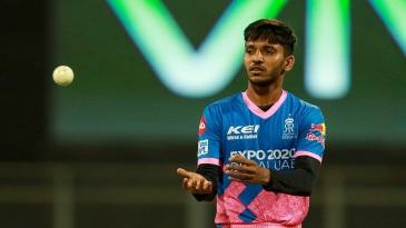 Chetan Sakariya is on his IPL debut