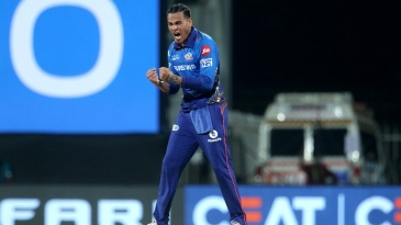 Rahul Chahar exults after dismissing Shubman Gill
