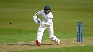 Hassan Azad was unbeaten on fifty at tea