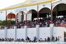 Full house: the gates were closed on the second day of the final, Queensland vs New South Wales, Sheffield Shield final, Allan Border Field, April 16, 2021