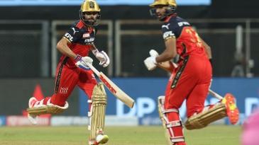 Virat Kohli and Devdutt Padikkal got RCB's chase off to a fine start