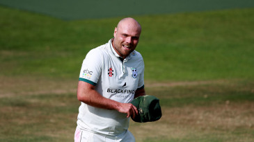 Worcestershire captain Joe Leach had a day to remember with the bat
