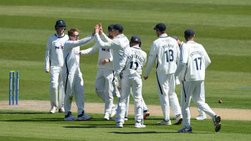 Dom Bess claimed his maiden five-for for Yorkshire against Sussex