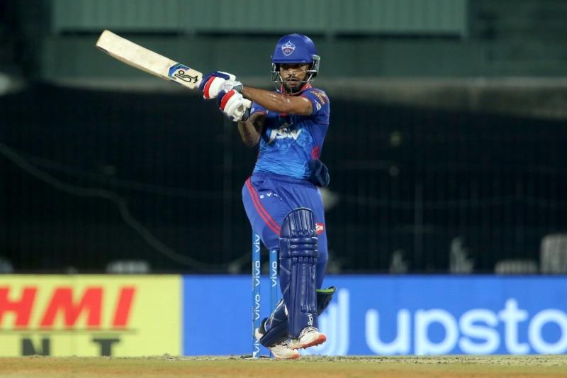 Shikhar Dhawan hit 28 off 26