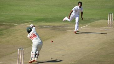 Hasan Ali ripped through the Zimbabwe line-up
