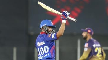 Prithvi Shaw slammed 50 off 18 balls