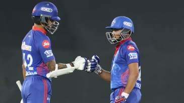 Shikhar Dhawan and Prithvi Shaw put on 132 in 13.5 overs