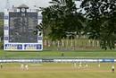 A general view of play at the Pallekele International Cricket Stadium, Sri Lanka v Bangladesh, 2nd Test, Pallekele, 2nd day, April 30, 2021
