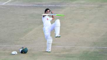 Fawad Alam is thrilled after scoring his fourth Test century