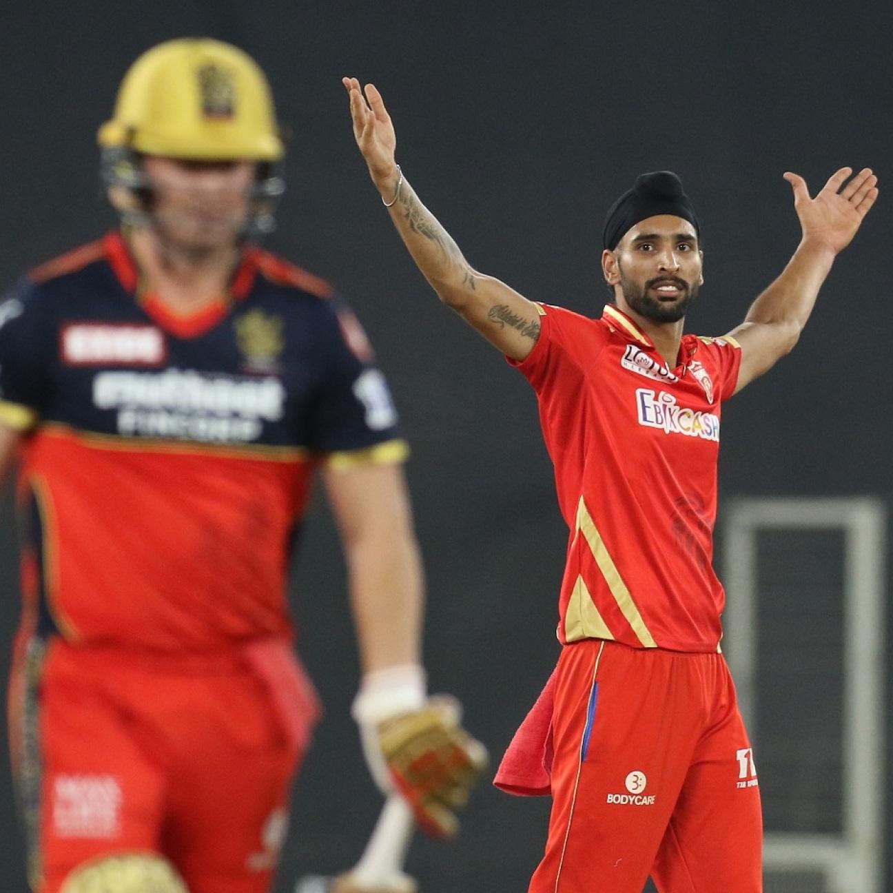 Punjab Kings beat RCB Punjab Kings won by 34 runs - Punjab Kings vs RCB, IPL, 26th Match Match Summary, Report | ESPNcricinfo.com