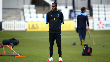 Jofra Archer made his comeback from injury for Sussex's 2nd XI