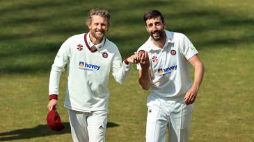 Gareth Berg and Ben Sanderson took five wickets each