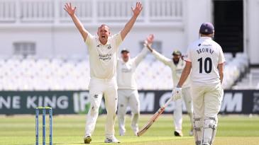 Luke Fletcher claimed six wickets